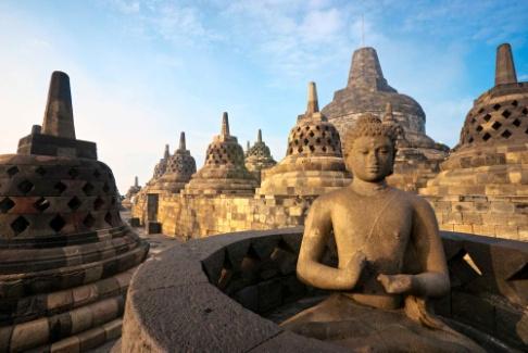 Voyage de noces en Indonesie