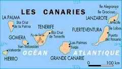 Carte Canaries