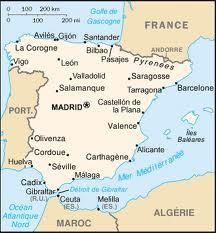 Carte De L Espagne Et Iles Canaries | My blog