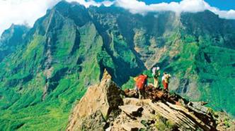 Voyage de noces à l'île de la Réunion