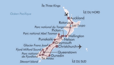 Au pays des Maoris NOUVELLE ZELANDE